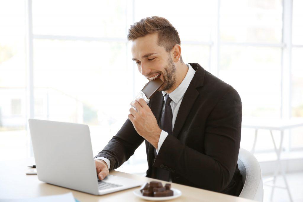 San Francisco Corporate Wellness Program | Dark Chocolate | Refreshment Service | Better-For-You Snacks